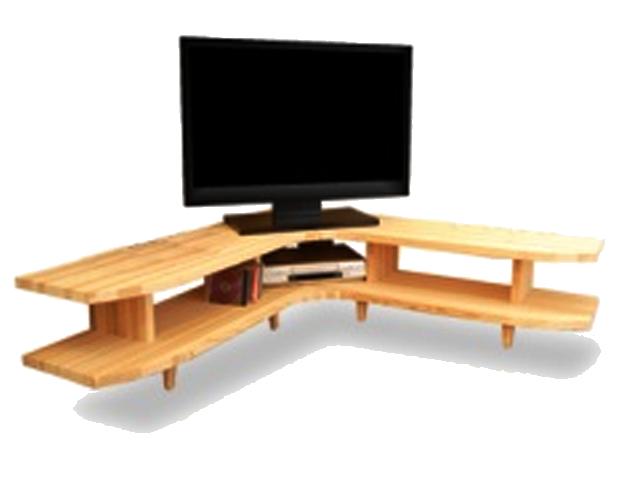 国産杉コーナーテレビボード