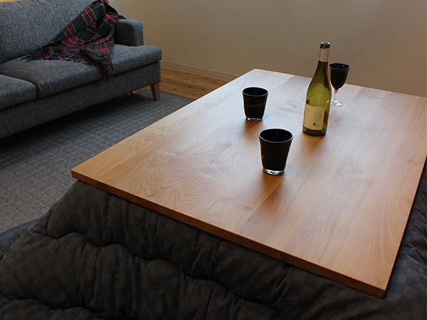 ワインとコタツ