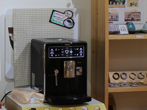 店舗内装写真(珈琲マシーン)4