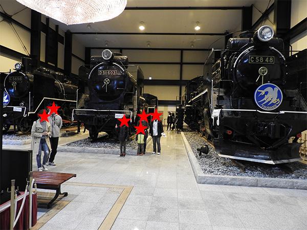 嵯峨嵐山駅蒸気機関車2