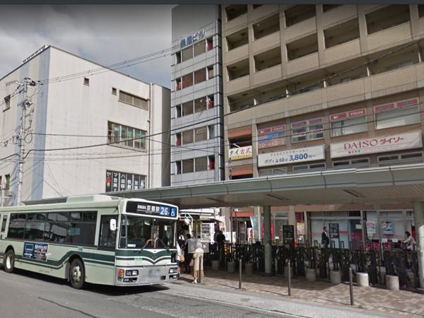 市バス「四条大宮」